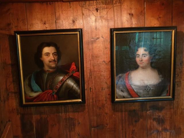 Peter de Grote en Catharina I