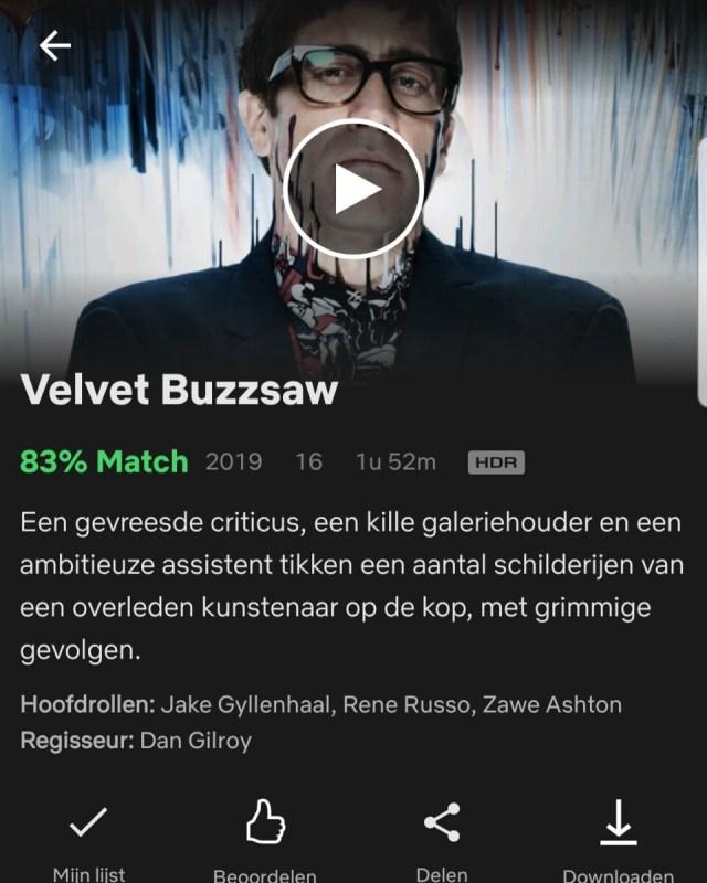 Velvet Buzzsaw - Jake Gyllenhaal