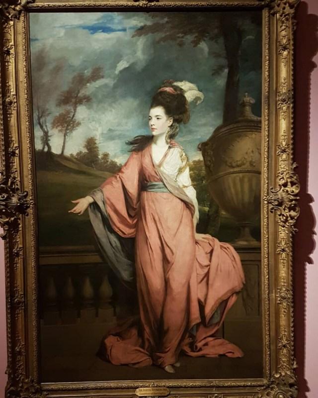 Jane Fleming, latere gravin van Harrington (1778 -79) van Joshua Reynolds.