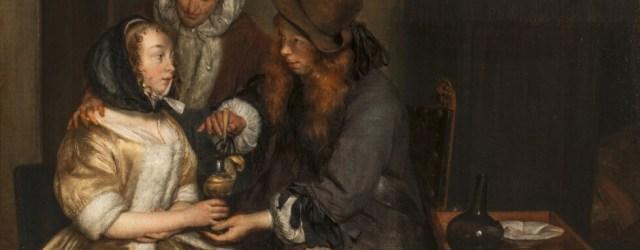 Een glas limonade - Gerard ter Borch