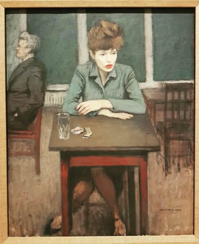 Raphael Soyer Café Scene