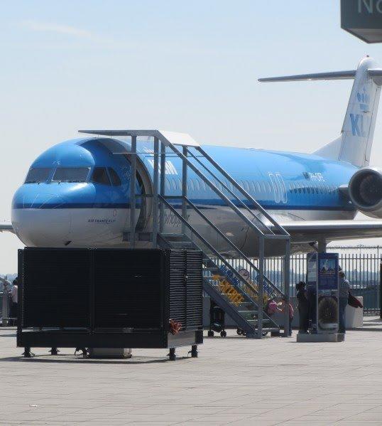 Fokker 100 - Panoramaterras