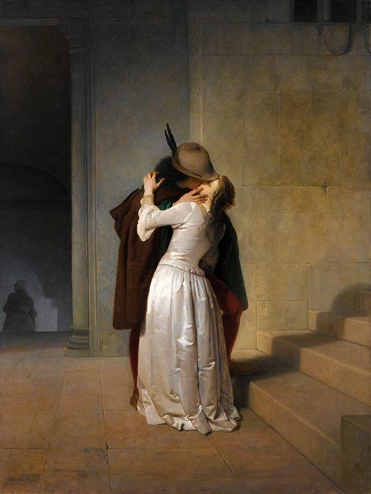 Bacio 1861 Hayez