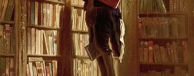 De boekenwurm - Carl Spitzweg
