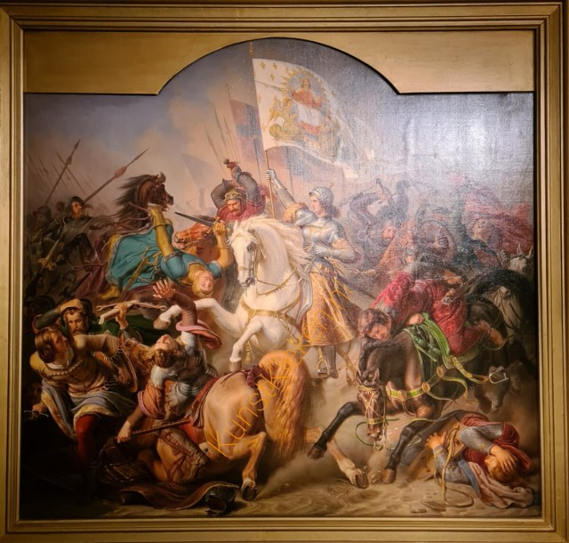 Jeanne D'arc in gevecht- Hermann Stilke