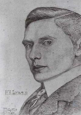 Frits Lugt - zelfportret (1901)