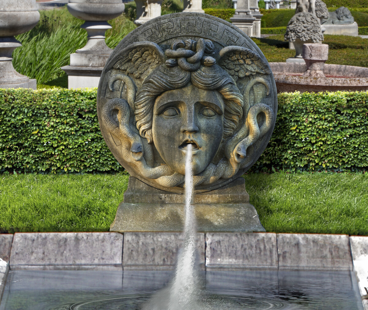 Versace Medusa Fountain
