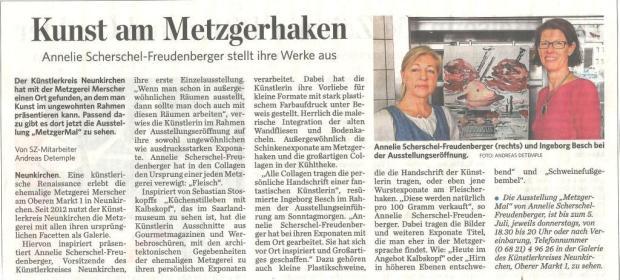Saarbrücker Zeitung 21.05.2014