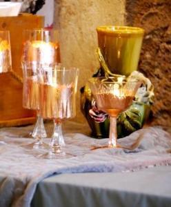 teelichter mit vase