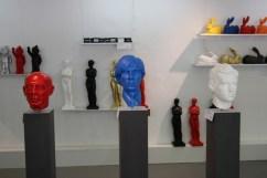 Picasso, Warhol, Rimbaud von Ottmar Hörl