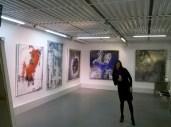 3 Ausstellung Jana Bergemann, KUNSTMASSNAHMEN Jürgen Leibig