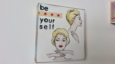 Be yourself 14x16 cm EUR 59.-