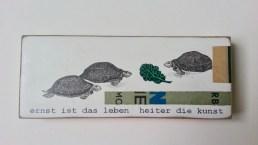 Ernst ist das ... Schildkröten 10x20 cm EUR 59.-