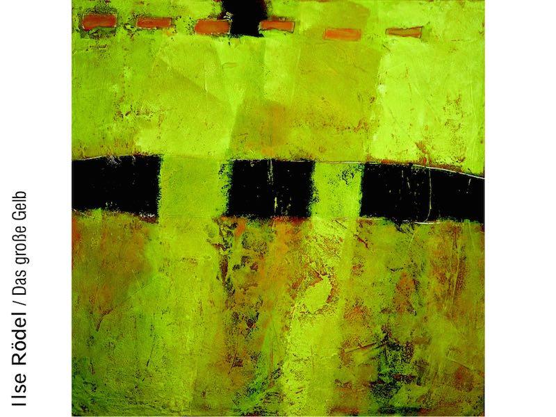 Ilse Roedel: Das große Gelb
