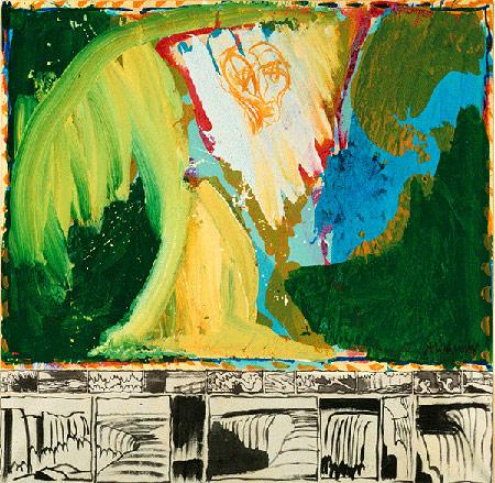 Le Bruit de la chute / Støjen fra vandfaldet, 1974-75, Louisiana Museum for Moderne Kunst, Humlebæk