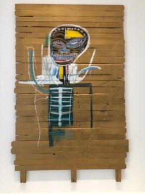 Basquiat. Gold Griot. 1984