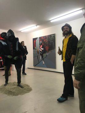 Sjaak Kooij voor zijn werken: Horseback rider en the Retainer
