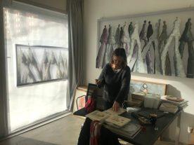 Hester van Dapperen kiest nog een klein, heel nieuw werkje voor de Kunst op de Klapstoel middag.