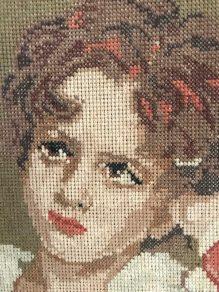 close-up borduurwerk