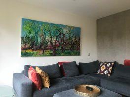 Werk van Gertjan Scholte Albers verandert de hele kamer.