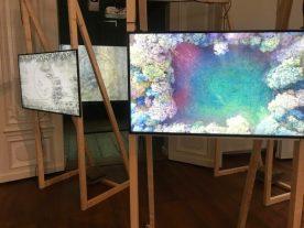 Jeroen Jongeleen, Running in Circles, opstelling in Upstream Gallery Amsterdam