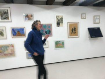 Positieve energie van Ada de Koning van Galerie AdK in Amsterdam