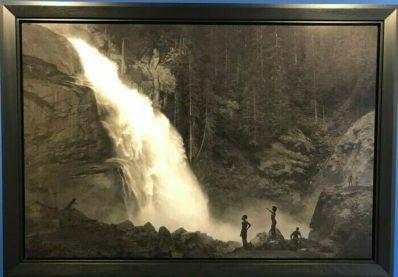 Erwin Olaf, Im Wald, Am Wasserfall, 2020