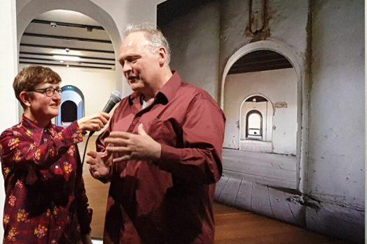 Andrea van Pol en Jan Theun van Rees in Gegeven Ruimte
