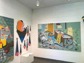 Werk van Daniel Gardebrandt in Dalslands konstmuseum.