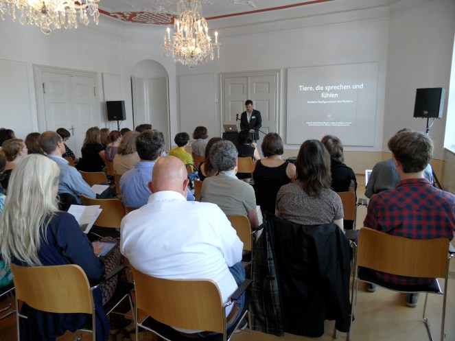 """Prof. Dr. Sabine Nessel und Carlo Thielmann M.A. (Johannes Gutenberg-Universität Mainz) """"Tiere, die sprechen und fühlen. Sinnliche Konfigurationen des Filmtiers"""""""