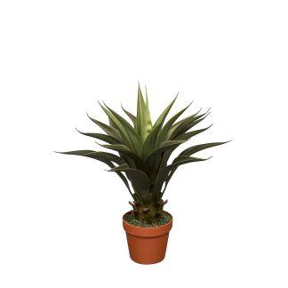 HTT Decorations - Kunstplant Agave vetplant (60 cm) - Kunstplantshop.nl