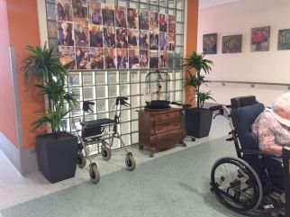 Kunstplanten Verzorgingshuis - huiskamer 2 - Kunstplantshop.nl