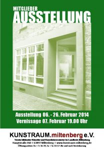 Mitgliederausstellung Feb. 2014