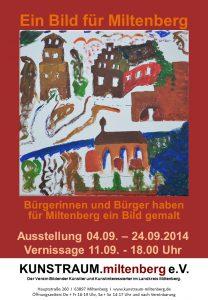 Plakat - Ein Bild für Miltenberg 2014