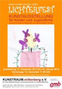 Plakat Lichterfest 2013