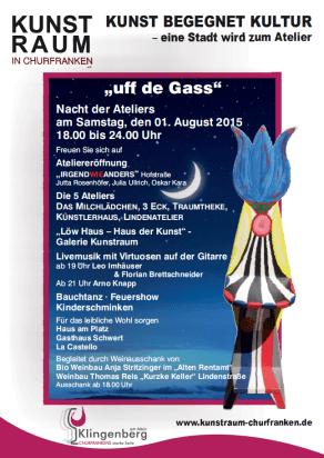 Kunst Plakat 2015