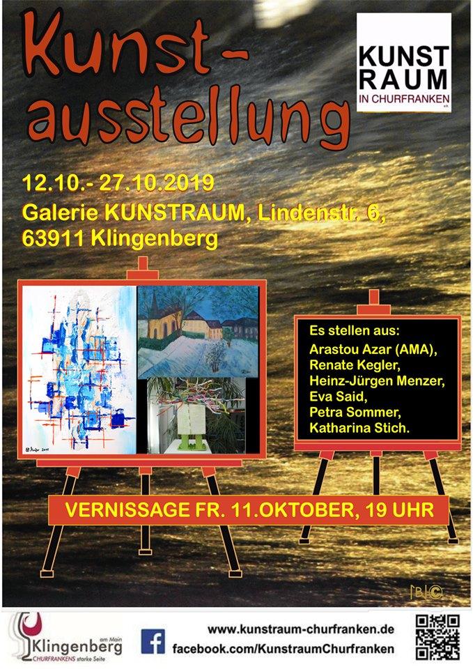 Neue Ausstellung in der Galerie KUNSTRAUM