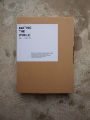 EDITING THE WORLD - Editionsbox