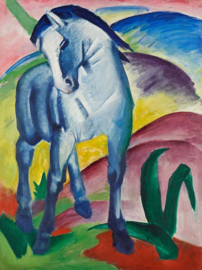 Franz_Marc-Blaues_Pferd-900