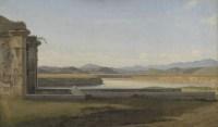 Christoffer Wilhelm Eckersberg (1783–1853), Die Fontana dell` Acqua Acetosa bei Rom, 1814/16, Öl auf Leinwand, 25,5 x 44,5 cm, Kopenhagen, Statens Museum for Kunst, Foto: SMK - The National Gallery of Denmark