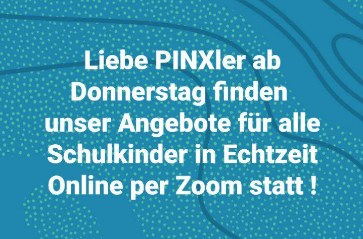 PINX ab DO 14.1.2021 per zoom