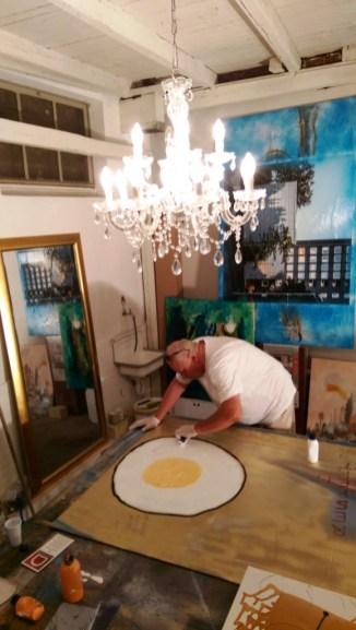 In Aktion: Manfred Dahmen
