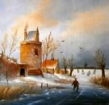 Winterlandschap 4 - Tonnis van Essen