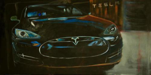 Abstracte auto's