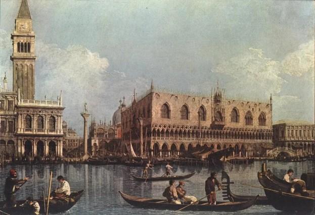 Canaletto - Bacino di San Marco