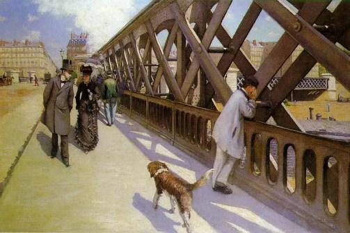 Gustave Caillebotte - Pont de l'Europe