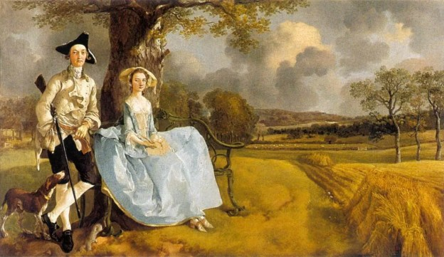 Thomas Gainsborough - Mr en Mevr. Andrews
