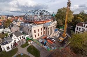 Museum de Fundatie tijdens de verbouwing