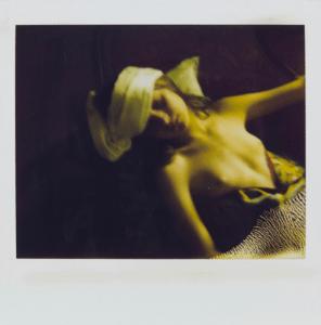 Polaroid van Anna - Balthus