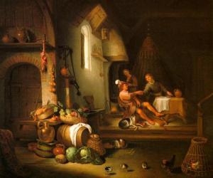Hendrick Sorgh - Esau en Jakob